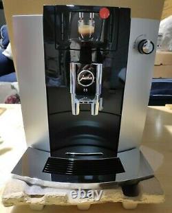 Jura Impressa E6 Bean To Cup Coffee Machine Black/Platinum Brand New No Box