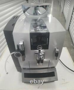 Jura Professional XJ9 Automatic Espresso Coffee Machine with Touchscreen in Silver