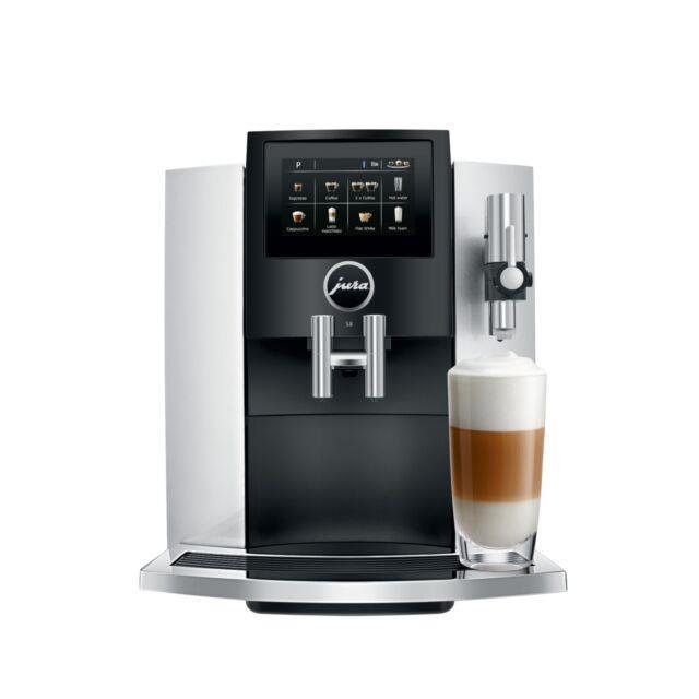 Jura S8 Automatic Coffee & Espresso Machine Moonlight Silver