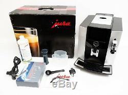 Jura S8 Moonlight Silver Automatic Coffee Machine 15211
