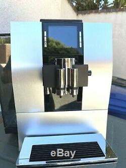 Jura Z6 Automatic Coffee Machine Aluminum Silver withJura Cool Control 17oz