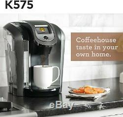 KEURIG HOT 2.0 Brewer K575 PLUS BUNDLE Single Serve Coffee Maker