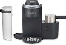 Keurig K-Cafe Single Serve K-Cup Coffee Maker Dark Charcoal