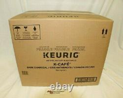Keurig K-Cafe Single Serve Pod/Coffee/Latte/Cappuccino Maker (Dark Charcoal)NIB