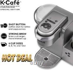 Keurig K-Cafe Special Edition Single Serve Coffee, Latte & Cappuccino Maker