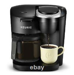 Keurig K-Duo Essentials Coffee Maker Single Serve K-Cup Pod 12 Cup Carafe Brewer
