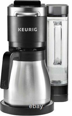 Keurig K-Duo Plus 12-Cup Coffee Maker and Single Serve K-Cup Brewer Black