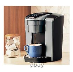 Keurig K-Elite Single Serve Coffee Maker Brushed Slate
