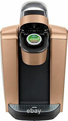 Keurig K-Elite Single-Serve K-Cup Pod Coffee Maker Brushed Copper