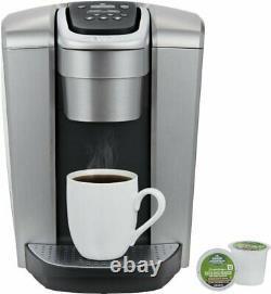 Keurig K-Elite Single Serve K-Cup Pod Coffee Maker Brushed Silver