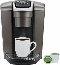 Keurig K-Elite Single-Serve K-Cup Pod Coffee Maker Brushed Slate