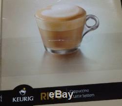 Keurig Lavazza Rivo R500 Espresso Machine Cappuccino & Latte System Coffee Maker
