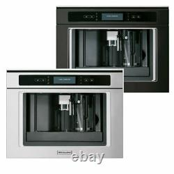 KitchenAid KQXXX 45600 (silver or black) / BUILT-IN COFFEE MACHINE 60 CM NEW