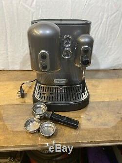 Kitchen Aid Artisan Gun Metal Grey Espresso Coffee Machine VGC