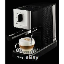 Krups Calvi Manual Espresso Steam And Pump Coffee Latte Cappuccino Maker Machine