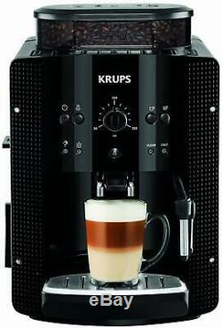 Krups EA8108 Fully Automatic Coffee Machine, Cappucino Plus Nozzle, 1 or 2 Cup