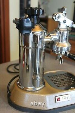 La Pavoni EUROPICCOLA 1976 Maschine Espresso Coffee Lever Cappuccino Italy
