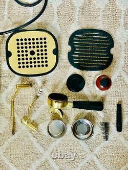 La Pavoni PB-16 Copper/Brass 16 Cups Coffee and Espresso Maker Used