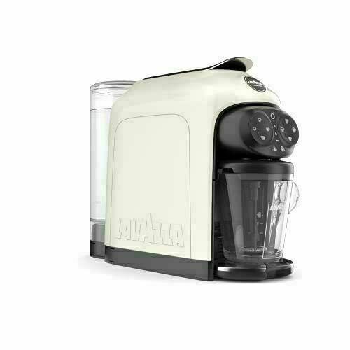 Lavazza A Modo Mio Deséa Espresso Coffee Machine, White Cream Brand New