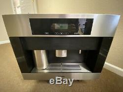 MIELE CVA4066 24 BUILT IN COFFEE BEAN SYSTEM WithPLUMBED WATER CONNECTION