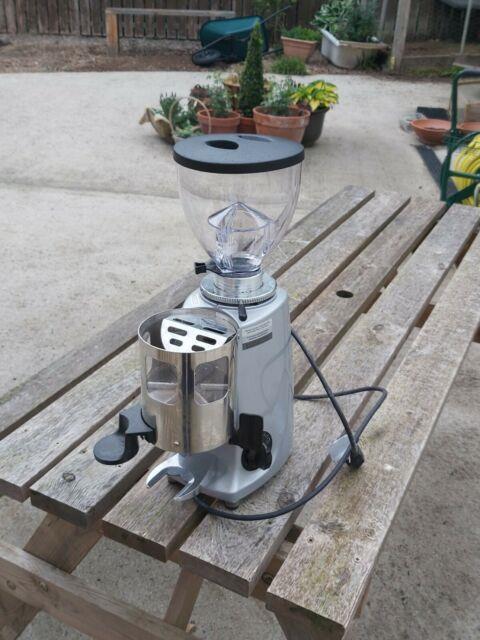 Mazzer Mini Auto Coffee Grinder. New Hopper