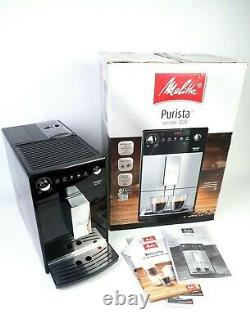 Melita Purista Fully Automatic Bean to Cup Espresso Coffee Machine Black