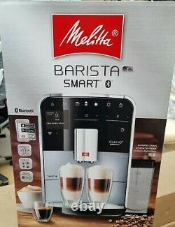 Melitta Barista T SMART Silver Bean To Cup Coffee Machine F83/0-101