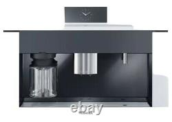 Miele CVA6805WH 24 Built-In Plumbed Whole Bean Coffee System in Brilliant White