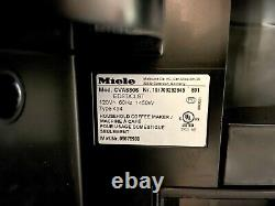 Miele CVA6805 24 Built-In Plumbed Whole Bean Coffee System in Stainless Steel
