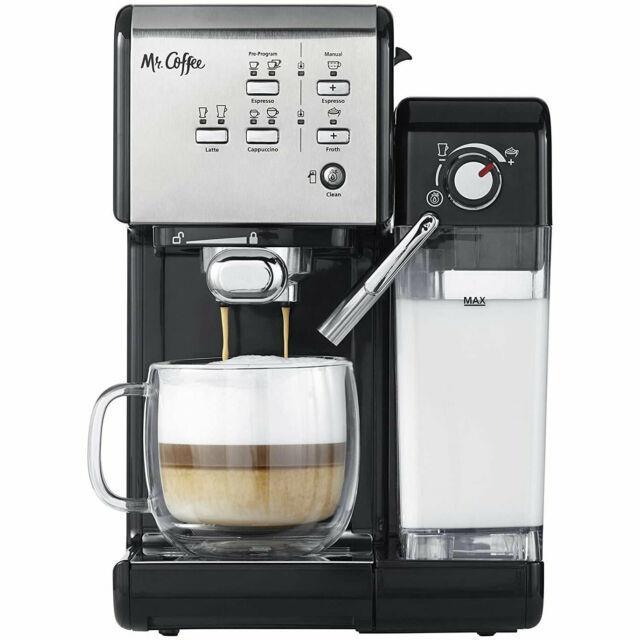 Mr. Coffee 1 Touch 19 Bar Pump Programmable Espresso Maker Machine (open Box)
