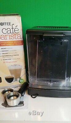 Mr. Coffee Cafe Barista Espresso/Cappuccino/Latte Maker, Red BVMC-ECMP1106