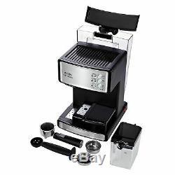 Mr. Coffee Cafe Barista Espresso. Cappuccino Maker Silver