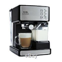 Mr. Coffee Cafe Barista Espresso and Cappuccino Maker BVMC-ECMP1000RB (Silver)