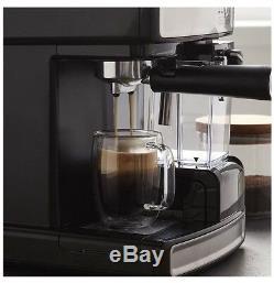 Mr. Coffee Cafe Barista Espresso and Cappuccino Maker, Silver. Store Return