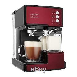 Mr. Coffee Café Barista Premium Espresso and Cappuccino Machine Red
