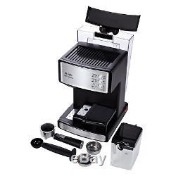 Mr. Coffee Espresso and Cappuccino Maker Café Barista, Silver