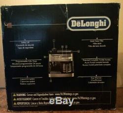 NEARLY NEW! Delonghi BC0330T Combination Drip Coffee and Espresso Machine
