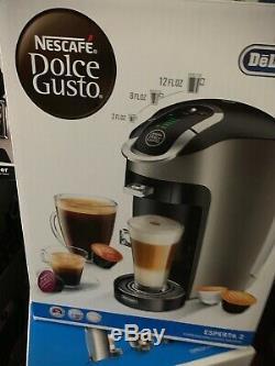 NESCAFE Dolce Gusto Esperta 2 Coffee Espresso & Cappuccino machine EDG657T Plus