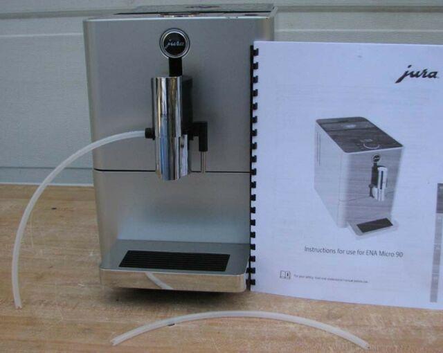 Nice Jura Ena Micro 90 Coffee Espresso Cappuccino Latte Machine Bean With Grinder