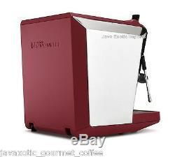 NUOVA SIMONELLI OSCAR II COFFEE ESPRESSO MACHINE RED Authorized DEALER