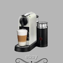 Nespresso Citiz EN267WAE Coffee and Espresso Machine by DeLonghi with Aeroccino