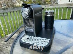 Nespresso Citiz with Milk C121 Coffee Machine with Aeroccino Frother