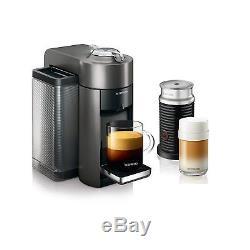 Nespresso ENV135GYAE Vertuo Evoluo Coffee Espresso Cappuccino Maker by Delonghi