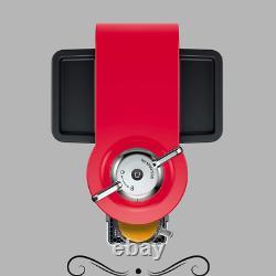 Nespresso ENV135R Vertuo Evoluo Coffee Espresso Maker by Delonghi, Red