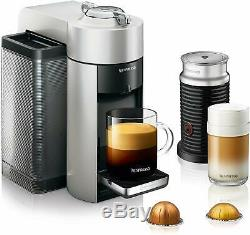 Nespresso ENV135SAE Vertuo Evoluo Coffee Espresso Cappuccino Maker by Delonghi