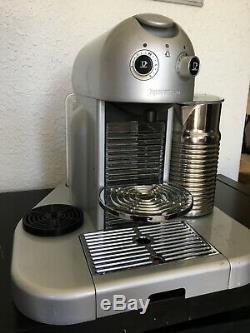 Nespresso Gran Maestria Coffee Espresso Maker with Milk Foamer Silver