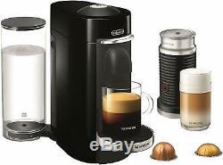Nespresso VertuoPlus Deluxe Coffee Espresso Machine Aerrocinno Frother ENV155BAE