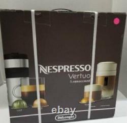 Nespresso Vertuo Coffee & Espresso Machine + Aeroccino3 Milk Frother ENV135RAE