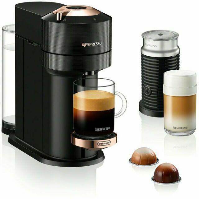 Nespresso Vertuo Next Coffee & Espresso Machine W Aeroccino By De'longhi (black)