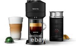 Nespresso Vertuo Next Coffee & Espresso Machine W Aeroccino by De'Longhi (Matte)